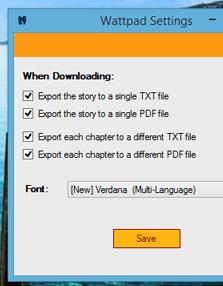 Wattpad Downloader